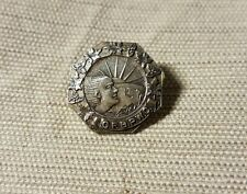 Sterling silver Canadian Federation of Business Professional Women's Club pin