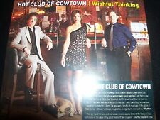 Club of Cowtown Hot Wishful Thinking CD (Shock Australia) – New