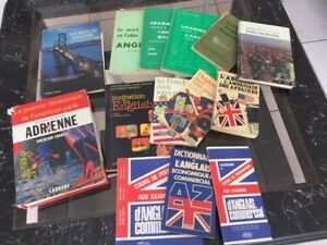 Lot De Livres Pour Apprendre L'Anglais