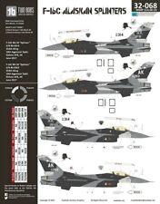 NEW 1:32 Two Bobs Decals 32068 Lockheed-Martin F-16C Alaskan Splinters