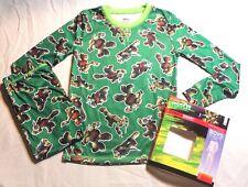 NEW~ CUDDL DUDS GREEN NINJA TURTLE Long Underwear Set BOYS SIZE M 8/10