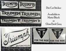 Triumph Motorcycle Sticker Decal 6""
