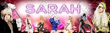 "Lady Gaga Poster Banner 30"" x 8.5"" Personalized Custom Name Printing for Kids"