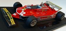 GP Replicas GP02C Ferrari 312 T4 Gilles Villeneuve 1/18 Monte Carlo GP 1979