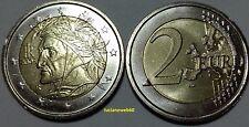2008 ITALIA 2 EURO DANTE FDC - NC -