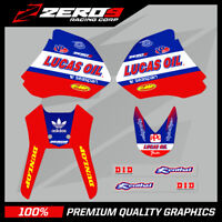 HONDA XR 400 GRAPHICS KIT DECAL KIT ENDURO GRAPHICS LUCAS