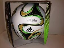 adidas Brazuca Official Final Soccer Ball Argentina vs Germany Messi Mueller