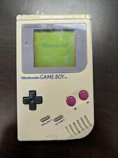 Original Gray Nintendo Game Boy Handheld System Console DMG-01 - Please Read