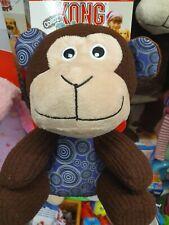 KONG Cordz Patches Monkey Plush Soft Dog Toy Medium/Large