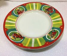 DIDDL DIDDLINA PIATTO IN CERAMICA CERAMIC DISH PIMBOLI FRAGOLE STRAWBERRY