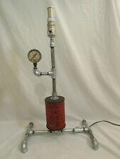 Steam Punk , Steampunk Filter Table Lamp :