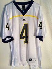 Adidas NCAA Jersey Michigan Wolverines #4 White sz L