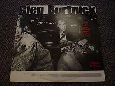 GLEN BURTNICK - HEROES & ZEROS - OOP 1987 GOLD STAMP PROMO - VG+ NM