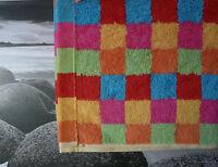 cawö Lifestyle carreau Multicolore. Serviette de toilette, BAIN, Sauna ,