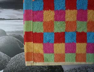 Cawö Lifestyle Checks Multicolour. Hand Towel, Shower Guest Sauna Towel