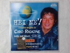 CIRO RIGIONE Hei ne'! cd singolo PR0M0 RARISSIMO