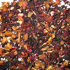 Organic cranberry apple fruit tea herbal tea loose leaf tea 4  OZ  Good Iced Tea