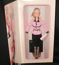 Barbie Doll AVON Representative in Pink Jacket Caucasian 1998 Special Edition