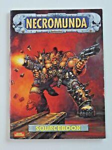Games Workshop NECROMUNDA Sourcebook RPG Book 1995 7535