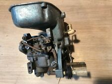 Evinrude 18hp 1961 - Carburetor and choke/throttle assembly