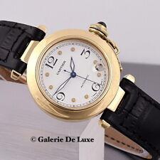 Cartier Pasha Automatik 18K Gold 35mm mit Faltschließe Ref.1035