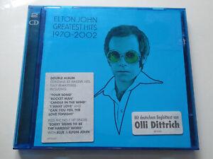 ELTON JOHN : Greatest Hits 1970 - 2002  > VG- (2CD)