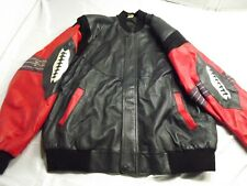Men's Leather Football Coat XL - Great Design