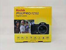 Kodak PIXPRO FZ152 CCD Compact Digital Camera - Black   Brand New