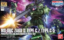 Gundam 1/144 HG #016 Gundam The Origin Zaku II Type C / Type C-5 Model Kit USA