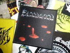 Bloodgood Patch Heavy Metal White-Metal Sacred Warrior
