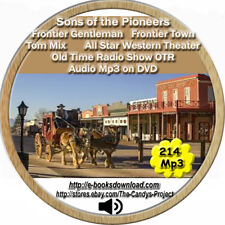 Sons of the Pioneers Audiobook Old TIme Radio Show OTR Frontier Gentleman DVD