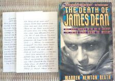 """JAMES DEAN """"THE DEATH OF"""" by Warren Beath SB 1988 First Evergreen Printing"""