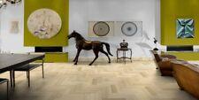 70mm x 280mm Brushed & Oiled European Solid Herringbone Oak Wood Floor 18mm