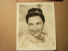 AGNES MOOREHEAD BEWITCHED GLAMOUR PORTRAIT ORIGINAL VINTAGE glossy b&w photo