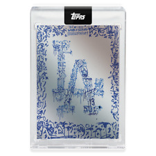 2020 Topps X Gregory Siff Card 3 - Los Angeles Dodgers