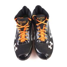 Under Armour Baseball Cleats US 12 / EUR 46 Orioles MLB Monogrammed Matusz 17