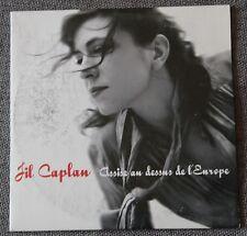 Jil Caplan, assise au dessus de l'Europe, CD single  Promo
