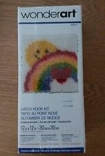 "Wonderart latch hook kit ""Sunshine Rainbow "" Nisb"