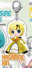 Vocaloid Rin Secret Project Mirai Metal Fastener Charm MINT