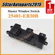 Window Master Switch for Nissan Navara D40 Pathfinder R51 Qashqai J10 25401EB30B