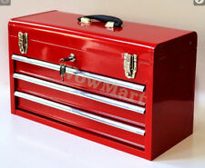 New 3 Drawer Mechanic Tool Box Chest Cabinet Toolbox  (#133)