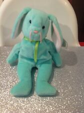 EXTRA RARE TY 1996 Hippity Beanie Baby Misprinted Hang Tag Errors, ADORABLE!!!!!
