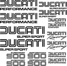 Ducati 900 STYLE decal motorbike motorcycle graphics stickers FREE P&P to UK
