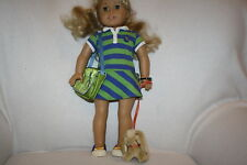 American Girl of the Year Lanie 2010 Doll Set GOTY Meet Outfit Accessories Bunny