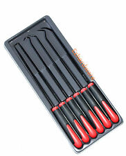 6Piece Extra Long  Pick and Hook Set O Ring Seal Puller Remover Mechanic