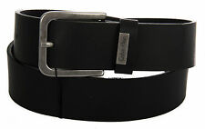 Cintura pelle uomo CK CALVIN KLEIN JEANS a.K50K500975 taglia 110 c.001 NERO