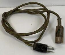 Vintage Genuine Apple Macintosh 3 Prong Electri Cord #53 Power Cord 6 Ft