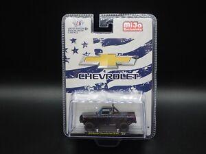 2021 M2 MACHINES 1973 CHEVROLET CHEYENNE SUPER 10 4X4 MIJO EXCLUSIVE MJS34