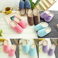 New 1 Pair Women Ladies Winter Home Indoor Floor Slippers Shoes Warm Soft Casual