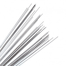 """Straight Wire Shafts 10/"""" Stainless Steel .045/"""" 50pk FREE Shipping!"""